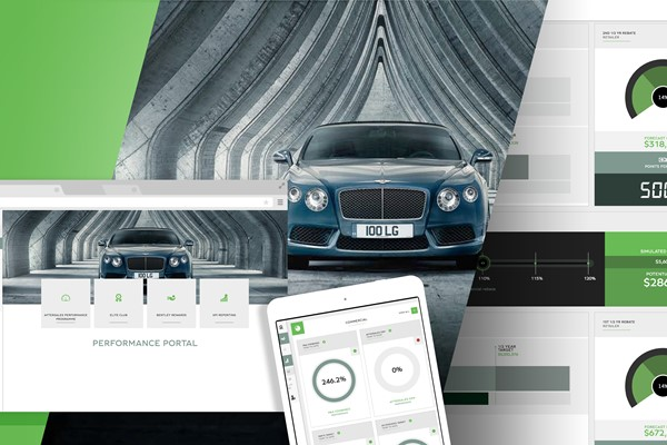 Bentley After Sales Performance - Single-Page Application (SPA)