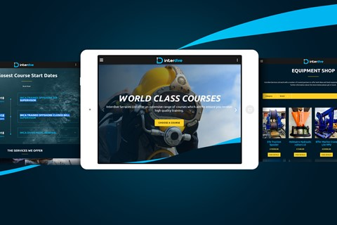 Interdive - Responsive Website